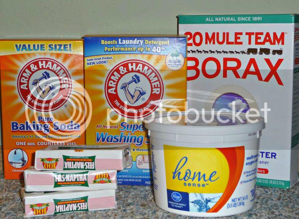 DIY powdered laundry soap recipe