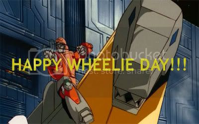 Wheelie-Grimlock Greeting