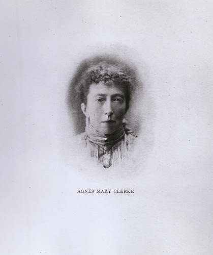 Portrait of Agnes Mary Clerke (1842-1907), Astronomer