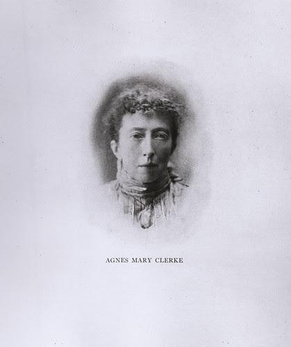 Portrait of Agnes Mary Clerke (1842-1907), Astronomer