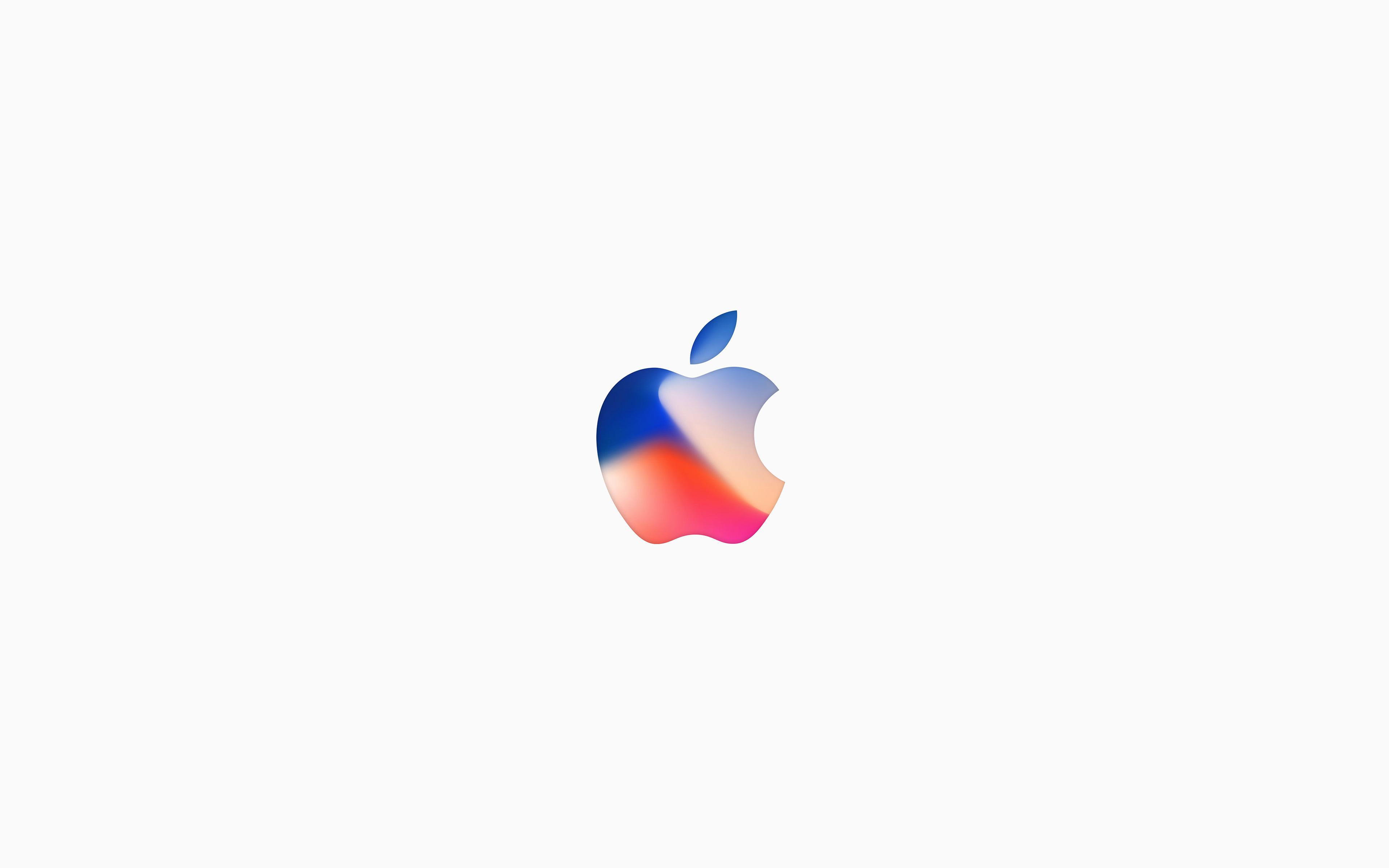 Iphone X Wallpaper 4k Apple Logo
