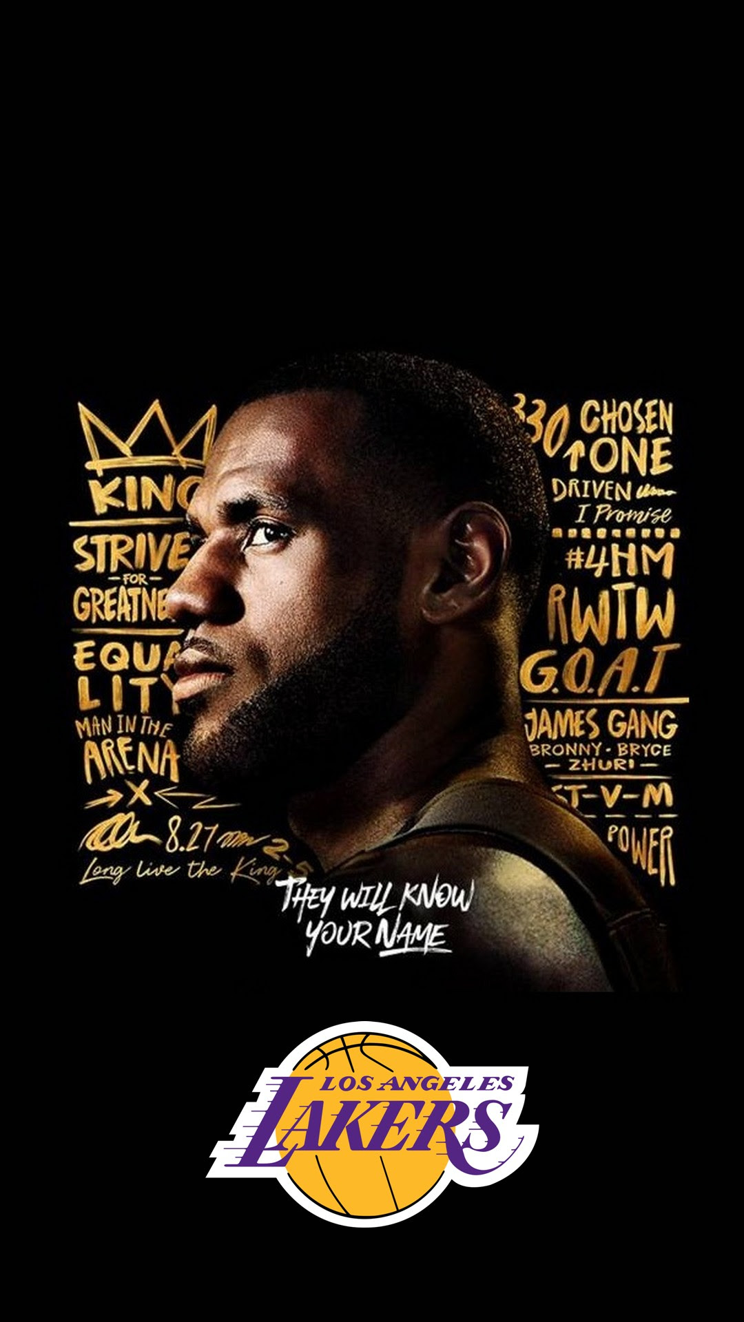 LeBron James Lakers Wallpaper iPhone HD | 2019 Basketball ...