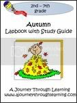 Autumn Lapbook, Activities and Review {A Journey Through Learning}