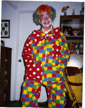 PAW PAW clown