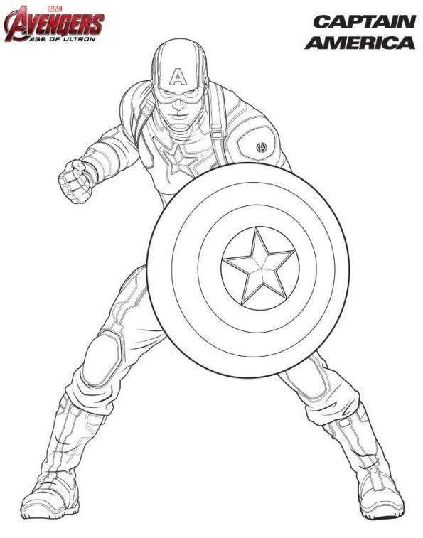 Niedlich Die Malvorlagen Des Avengers Logos Zeitgenössisch ...