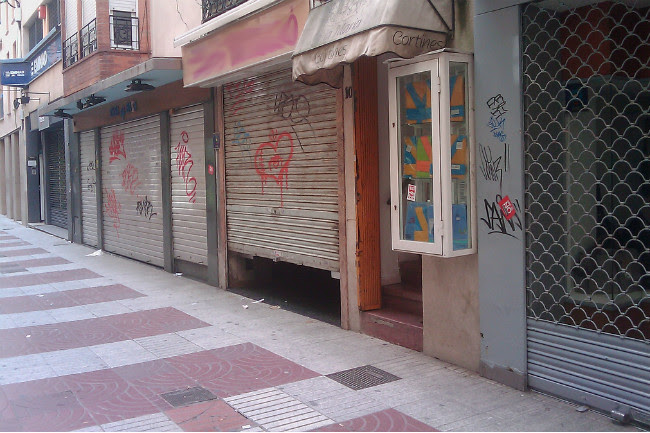 tiendas cerradas