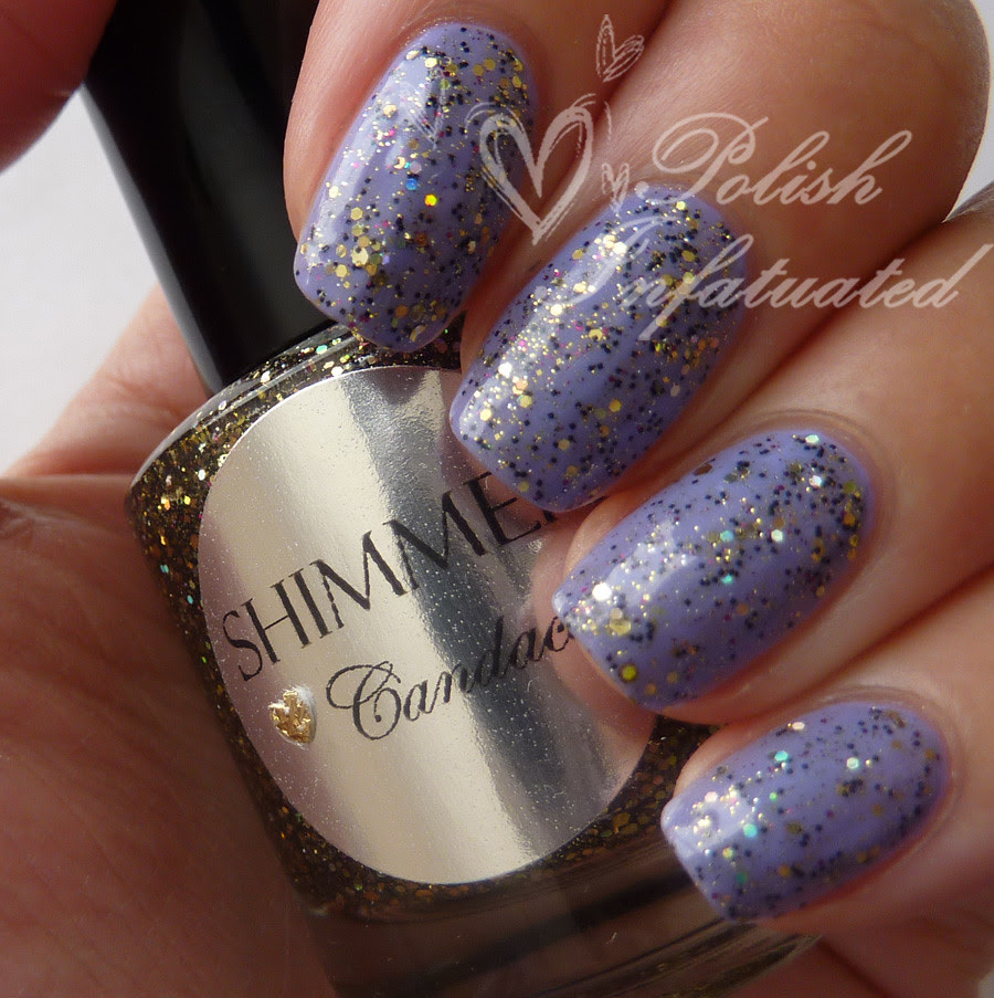shimmer polish candace