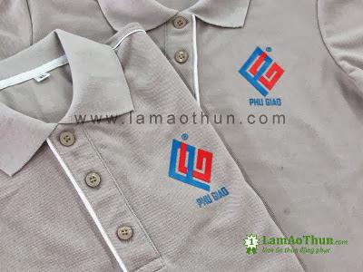 Áo đồng phục công ty Phú Giáo