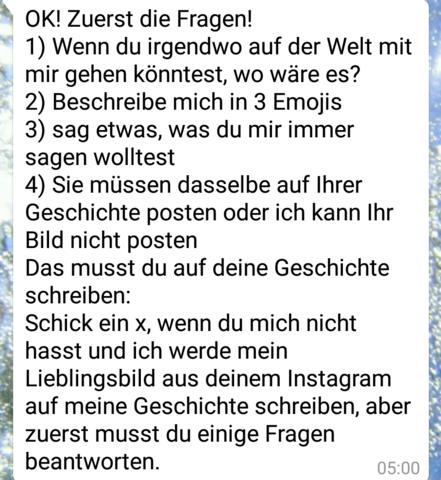 Whatsapp Kettenbrief Fragen Liebe : Whatsapp Kettenbrief