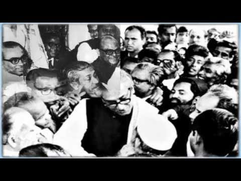 Bangabandhu Sheikh Mujibur Rahman, the father of the nation, Bangladesh