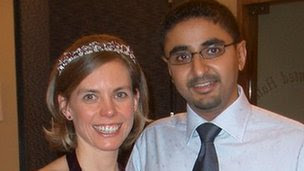Catriona and Anish Patel