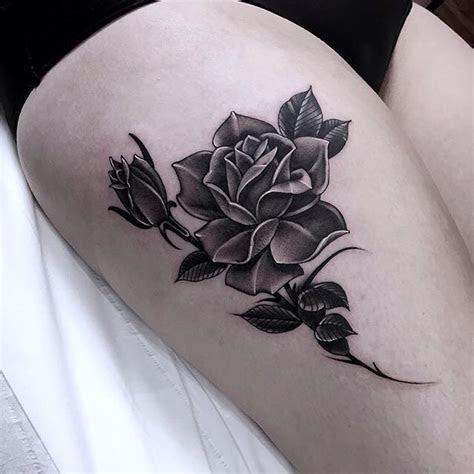 grey rose tattoo tattoo ideas gallery