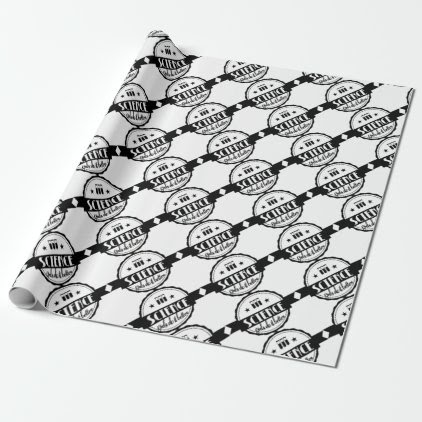 Science Girls do it Better Wrapping Paper