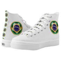 Brazil / Brasil Soccer Ball Printed Shoes