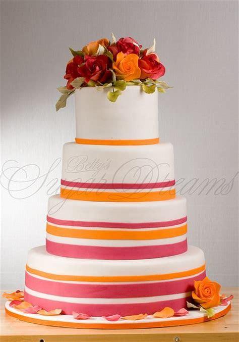 751 best images about Hot Pink and Orange Weddings on