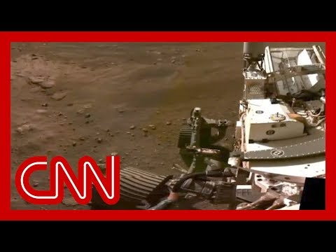 Watch the Perseverance rover's first footage of Mars