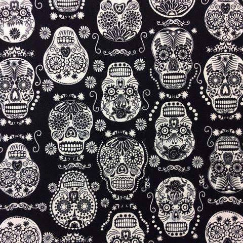 Boys Black And White Sugar Skulls Western Top Bsswt Hemet Store