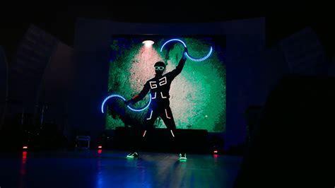 LED Buugeng Show Performance in Hyderabad   Skeleton Dance