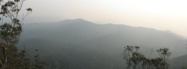 Hills in the Haze