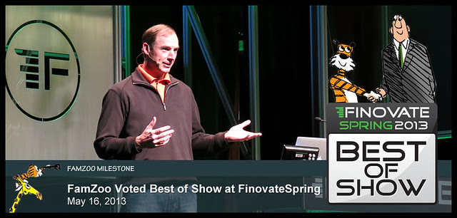 FamZoo Voted Best of Show at FinovateSpring, May 16, 2013
