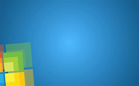 microsoft windows  simple base colours clean metro