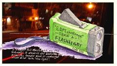 EDM challenge # 120= draw a flashlight