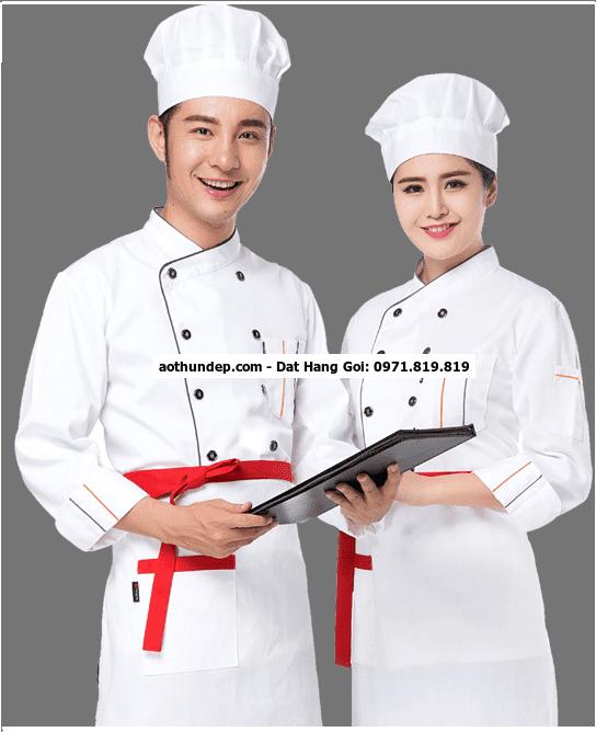 áo đồng phục nhà bếp