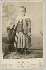 Boy with dress