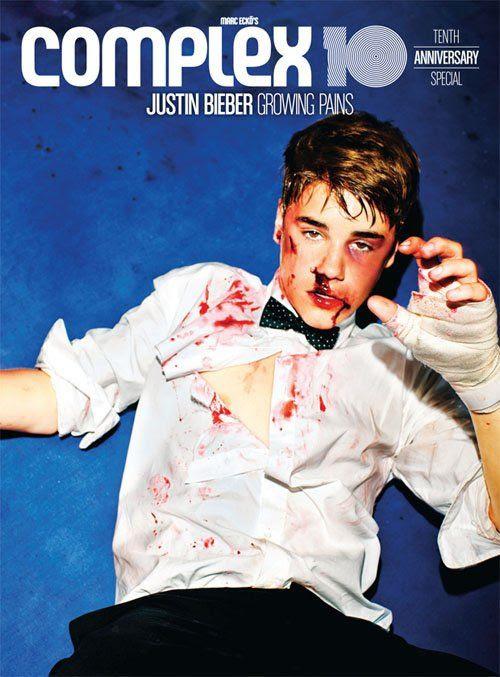 Complex magazine - 10th Anniversary Issue, Justin Bieber
