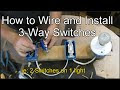 Wiring A 3 Way Switch Diagram How To Wire