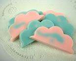 Cotton Candy Clouds - 6 Goat's Milk Guest Soaps