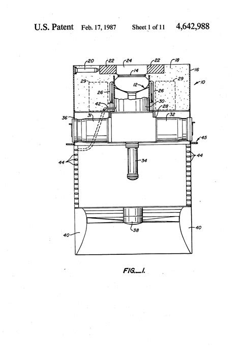 Patent US4642988 - Solar powered free-piston Stirling