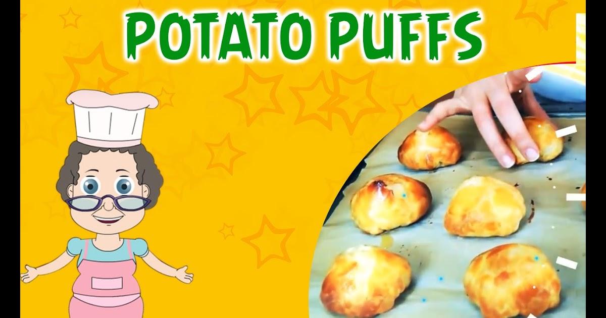 Define Program Kids Anka Potato Puffs Quick Potato Recipe Granny S Kitchen
