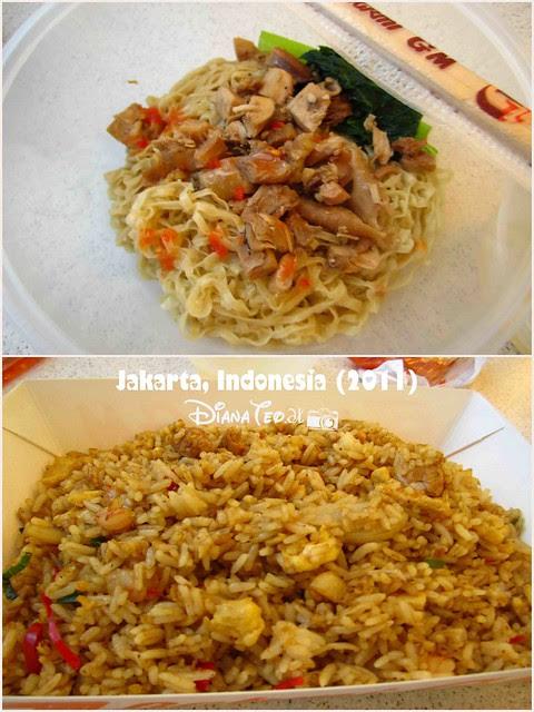 Foods in Jakarta Airport