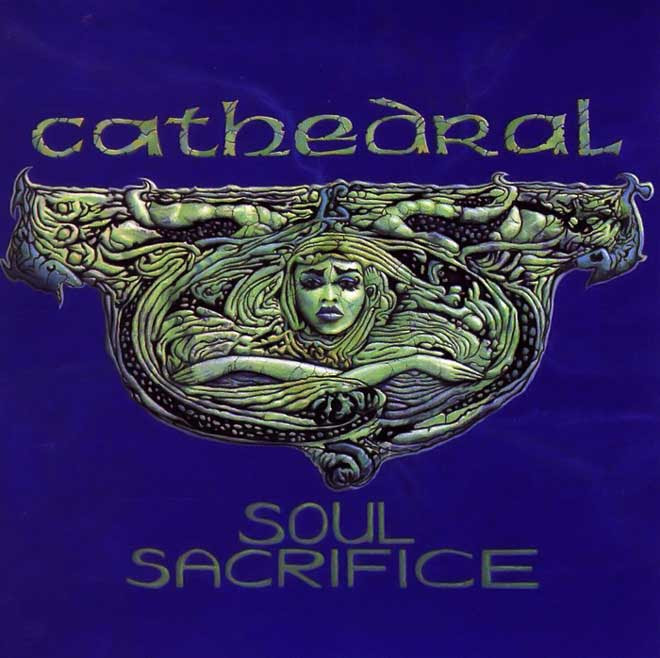 Cathedral - Soul Sacrifice EP Cover