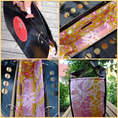 Mellow Yellow Record Purse