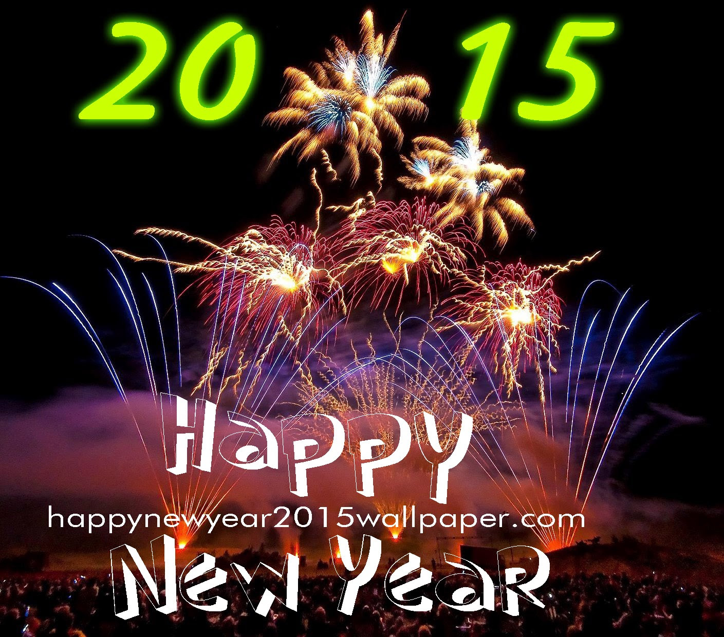 Happy New Year 2015 Live Wallpaper Android