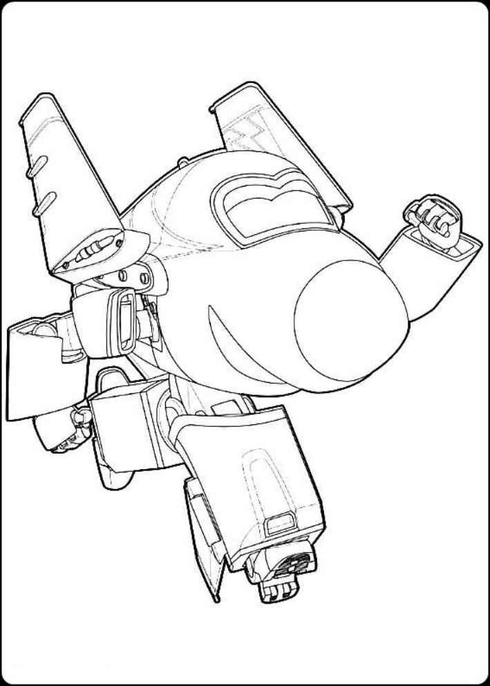 Gambar Kumpulan Gambar Mewarnai Robot Transformers Voltron Auto