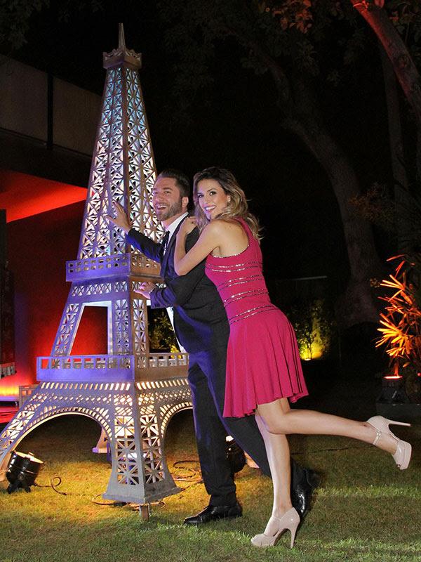 Beca Milano e Lucas Anderi no Fábrica de Casamentos