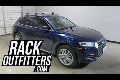 2018 Audi Q5 Roof Rack Cross Bars