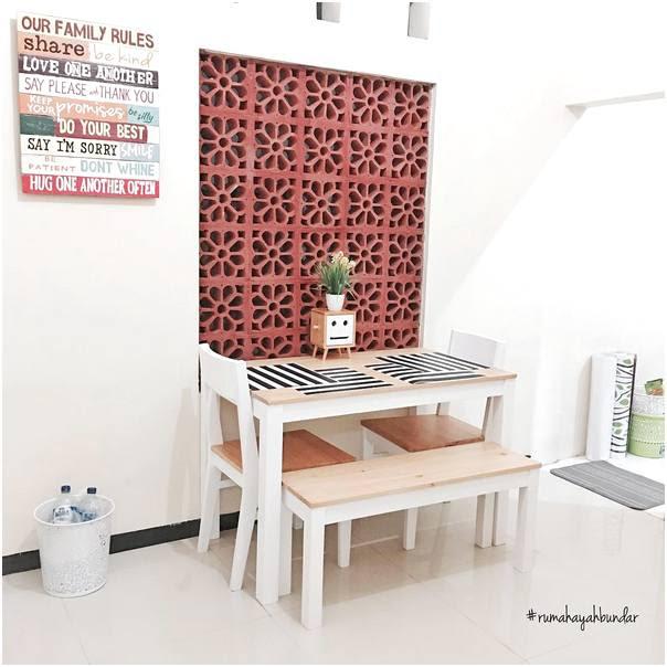 46 Desain Ruang Makan Dan Dapur Minimalis Sederhana Jadi Satu