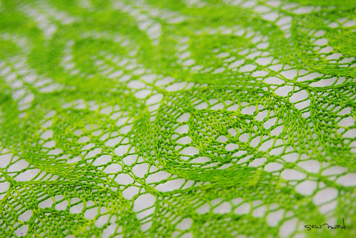 Spring Leaves - Ein Strickmuster @frauvau.blogspot.de