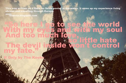 Paris and The Kooks