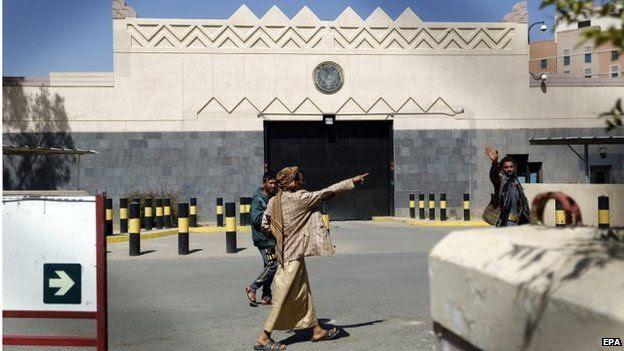 US embassy in Sanaa (04/03/15)