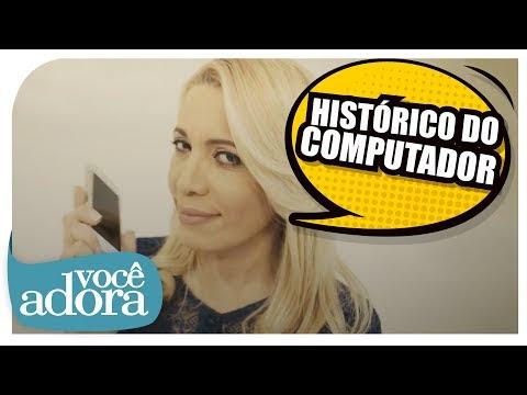 Andrea Fontes - Histórico do Computador