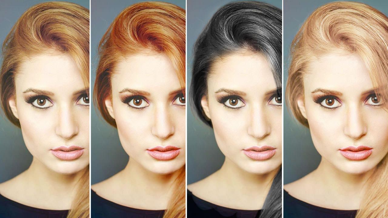 Hair Change Color Black Damen Hair