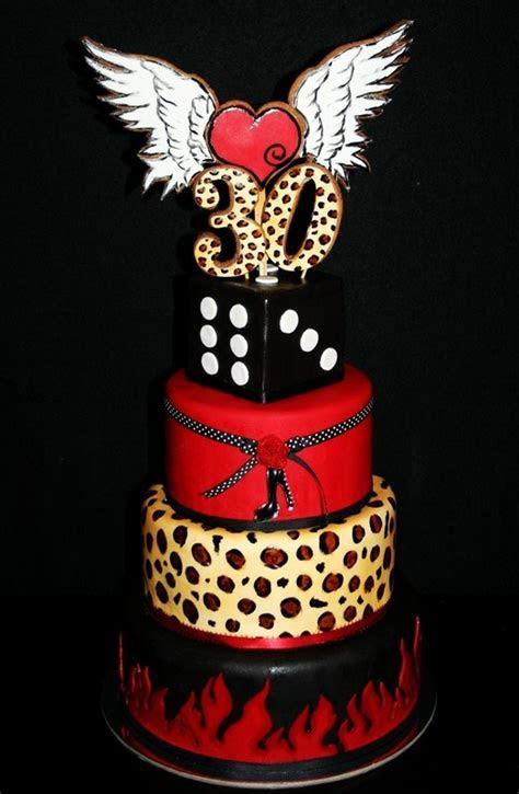 Rockabilly 30th Birthday Cake. Mud Cake, Carrot Cake