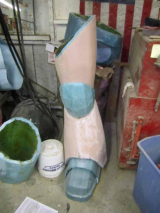 SM Leg Fairing