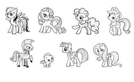 Immagini Da Colorare Di My Little Pony Fredrotgans