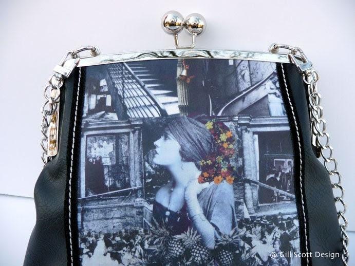 Art Nouveau clutch/shoulder bag